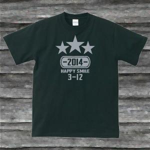 K'sお誕生日TシャツブラックTypeaPシルバー|shop-seed