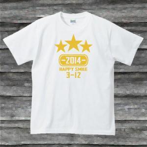 K'sお誕生日TシャツホワイトTypeaPゴールド|shop-seed