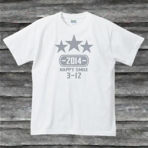 K'sお誕生日TシャツホワイトTypeaPシルバー|shop-seed