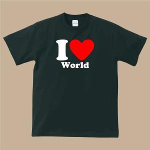 I LOVE Tシャツブラック|shop-seed