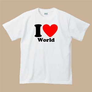 I LOVE Tシャツホワイト|shop-seed