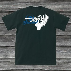 バスケットボール・一心不乱Tシャツ・ブラック・送料無料|shop-seed