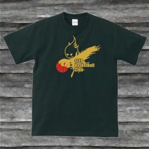 BASKE BOY'TシャツブラックG|shop-seed