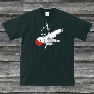 BASKE BOY'TシャツブラックH|shop-seed