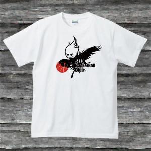 BASKE BOY'TシャツホワイトB|shop-seed
