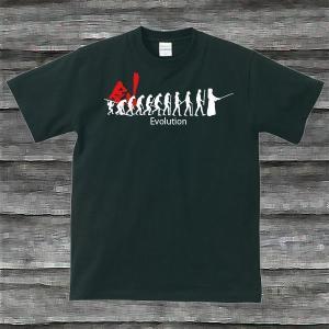 剣道・EvolutionTシャツブラック|shop-seed
