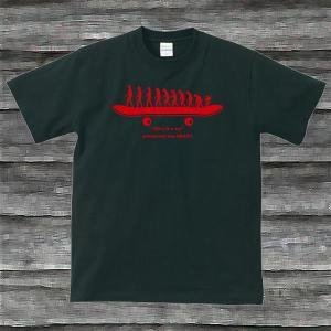 SK8.EvolutionTシャツブラック|shop-seed