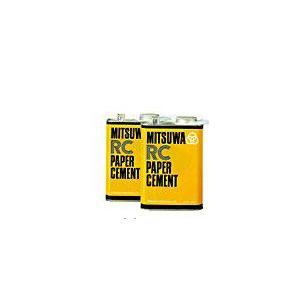ミツワ ペーパーセメント RC(片面塗り、樹脂加工用) 大缶 1570ml|shop-seibu