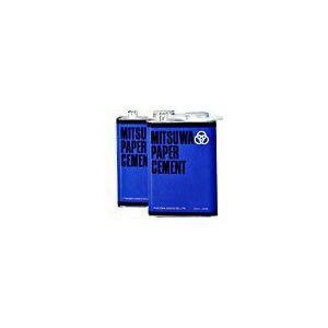 ミツワ ペーパーセメント Wコート(両面塗り) 大缶 1570ml|shop-seibu