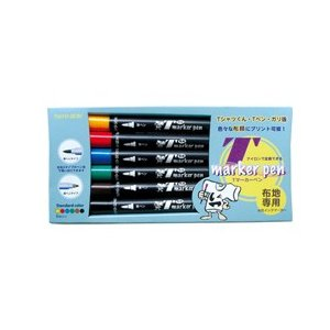 Tマーカーペン(スタンダードカラー6色セット) shop-seibu