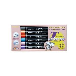 Tマーカーペン(パステルカラー6色セット) shop-seibu