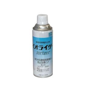 春日電機 静電気帯電防止剤 イオライザー#3001 1箱(420mlx12本入) shop-seibu