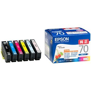 EPSON IC6CL70 6色セット さくらんぼ|shop-seibu