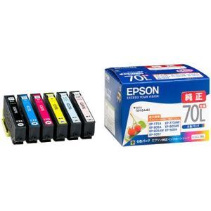 EPSON IC6CL70L(増量) 6色セット さくらんぼ|shop-seibu