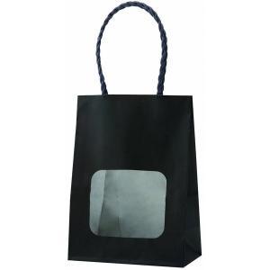 ウインドウミニバッグ ブラック(黒) 100枚|shop-seibu