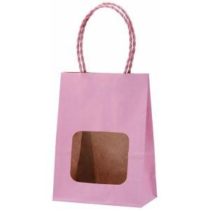 ウインドウミニバッグ ピンク(桃色) 100枚|shop-seibu
