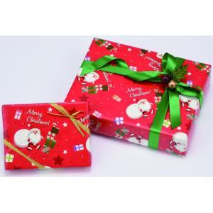 クリスマス包装紙 プレゼントサンタ 全判 753×1050mm 200枚|shop-seibu