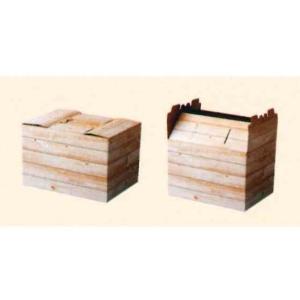 紙箱 インテリアボックス 白木 20枚 shop-seibu