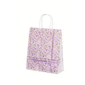 手提げ袋 HBT 紫花(花柄) (中) 200枚|shop-seibu