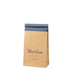 ハイバッグ(角底袋) スローライフ ワイヤー付袋 ウエストコースト BLUE(青) 15枚|shop-seibu