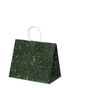 手提げ袋 HV68 風雅(和風 緑)(小) 200枚|shop-seibu