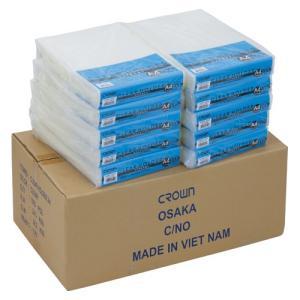 クラウン 業務用 クリアホルダー 1000枚入 (100×10袋) A4 透明タイプ (CR-CE100X10)|shop-shiba-kyoto