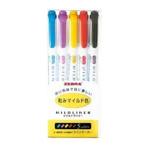 ゼブラ マイルドライナー RC 5色セット (...の関連商品8