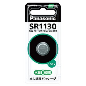 パナソニック 酸化銀電池 SR1130P|shop-shiba-kyoto