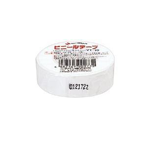 ニチバン ビニールテープ 白 (VT-195 シロ)|shop-shiba-kyoto