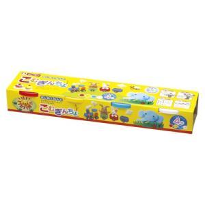 小麦ねんど こむぎんちょ 4色セット 銀鳥産業 A-KGN4Z|shop-shiba-kyoto