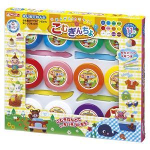 小麦ねんど こむぎんちょ 11色 白2個 銀鳥産業 A-KGN12Z|shop-shiba-kyoto