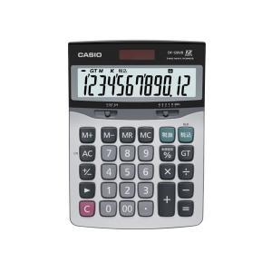 カシオ 特大表示 電卓 12桁 卓上 デスクタイプ DF-120VB-N|shop-shiba-kyoto