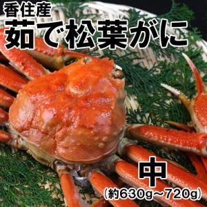 香住産・茹で松葉がに(大)(約550g)1匹(カニ かに 蟹 ズワイガニ ずわいがに 松葉ガニ 松葉蟹 お取り寄せ 産地直送) shop-syukuin