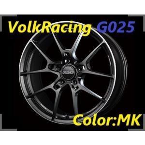 【メーカー・取り寄せ】RAYS Volk Racing G025 SIZE:8J-18 +45(F2) PCD:114.3-5H Color:MK