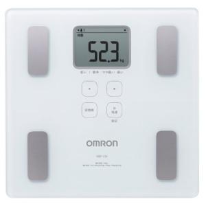 オムロン 体重・体組成計 カラダスキャン ホワイト HBF-214-W|shop-white