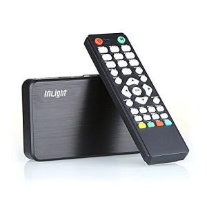 InLight HD023 メディアプレーヤー 選べる付属ケーブル(HDMI接続・VGA接続・AVコンポジット接続) MP4・FLV・MOV shop-white