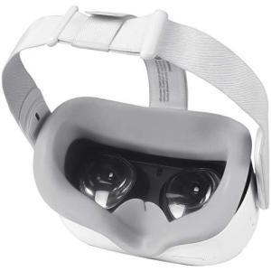 Oculus Quest 2 専用シリコンフェイスカバー (グレー)|shop-white
