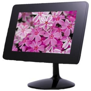 テクタイト デジタルフォトフレーム ブラック SDP-720GB|shop-white