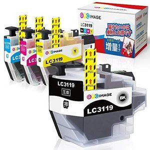 GPC Image ブラザー対応 Brother LC3119-4PK インクカートリッジ 4色セット ブラザー LC3119 LC3117|shop-white