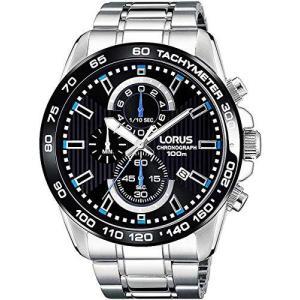 [LORUS]セイコーLORUS メンズ 腕時計 クロノグラフ RM377CX9ブラック [並行輸入品]|shop-white