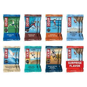 CLIF BAR(クリフバー)- Energy Bar - Variety Pack バラエティーパック 16本(8種類×各2本) shop-white