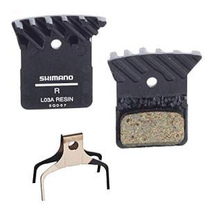 シマノ(SHIMANO) ディスクブレーキパッド L03A レジン フィン付 Y8PU98040|shop-white