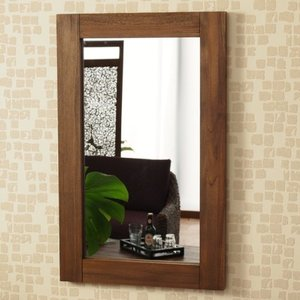 アジアン 壁掛けミラー 鏡 M067RKA アジアン家具モダン エスニック 木製|shop-white