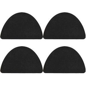 靴修理 スニーカー ランニングシューズ スケボーシューズ 穴の防止 かかと補修 パッチ Shoe Repair Kit (Black)|shop-white