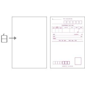 QC03 アマチュア無線用 既製品QSLカード 上質紙 裏面白紙 100枚入り|shop-yacnet