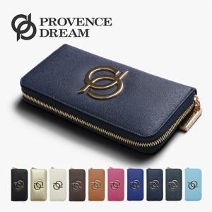 財布 レディース 長財布 Provence Dream 人気 本革 ランドファスナー ジップアラウンド 大容量 おしゃれ かわいい PD31秋の行楽