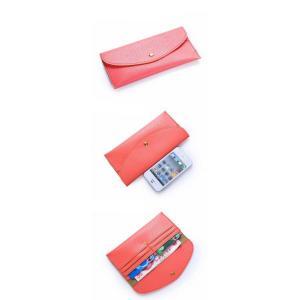財布 長財布 レディース 超薄い 財布 ブランド 安い カードケース ウォレット サイフ 可愛い 2018最新作 012DMDM|shop-ybj|13