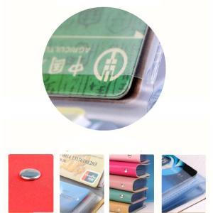財布 レディース  名刺入れ 手帳型も入荷  カードケース ポイント消化  大人気で ミニ財布 12~24ポケット大容量 収納可能  1512DM|shop-ybj|14