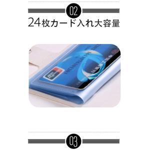 財布 レディース  名刺入れ 手帳型も入荷  カードケース ポイント消化  大人気で ミニ財布 12~24ポケット大容量 収納可能  1512DM|shop-ybj|15