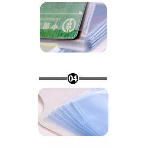 財布 レディース  名刺入れ 手帳型も入荷  カードケース ポイント消化  大人気で ミニ財布 12~24ポケット大容量 収納可能  1512DM|shop-ybj|16